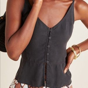 Anthropologie Cloth and Stone Whisper Camisol